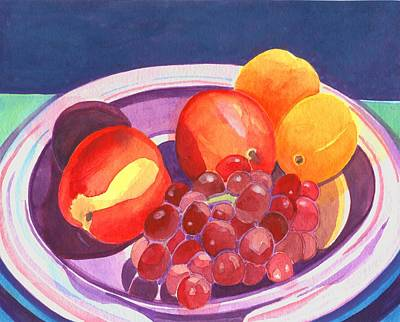 Painting - Assorted Fruit by Helena Tiainen