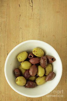 Photograph - Assorted Greek Olives  by Edward Fielding