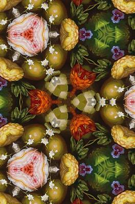 Painting - Assortment Of Flower And Foilage  by Sheila Mcdonald