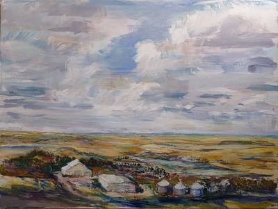 Painting - Abbey Farm by Helen Campbell
