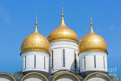 Valentines Day - Assumption Cathedral of Moscow Kremlin, Russia. by Mariusz Prusaczyk