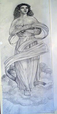 Assumption Of The Virgin Art Print by Patrick RANKIN