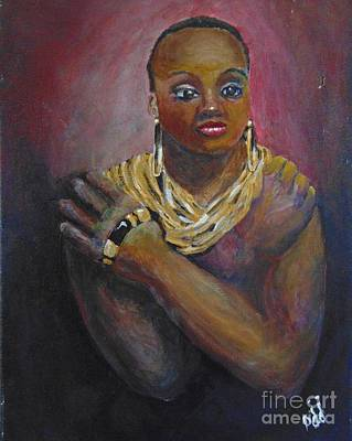Art Print featuring the painting Assured by Saundra Johnson
