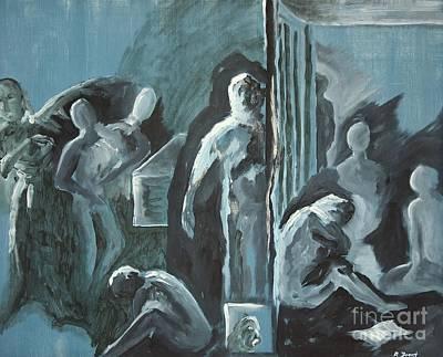 Assylum Art Print by Reb Frost