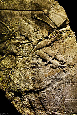 Photograph - Assyrian Archers by Weston Westmoreland