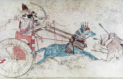 Photograph - Assyrian King 730 Bc by Granger