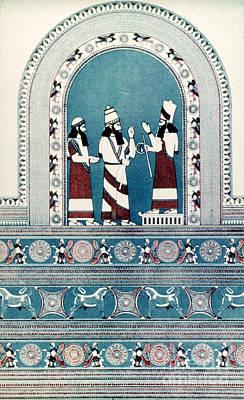 Photograph - Assyrian King, C720 B.c by Granger