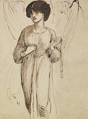 Astarte Syriaca  Art Print by Dante Gabriel Rossetti