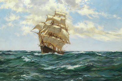 Asterion Art Print by Montague Dawson