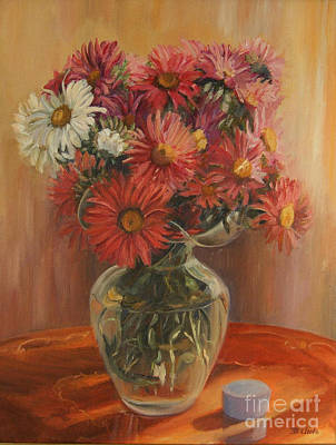 Painting - Asters by Beatrice Cloake