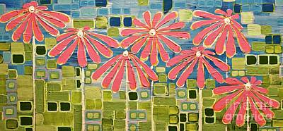 Painting - Asters by Donna Howard