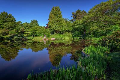 Photograph - Asticou Azalea Garden by Rick Berk