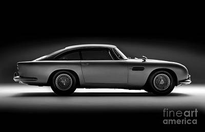 Digital Art - Aston Martin Db5 by Mohamed Elkhamisy