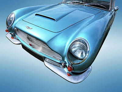Photograph - Aston Martin Db6 Blues by Gill Billington