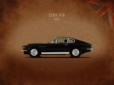 Photograph - Aston Martin Dbs V8 by Mark Rogan