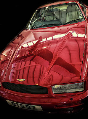 Vandalism Photograph - Aston Martin by Martin Newman