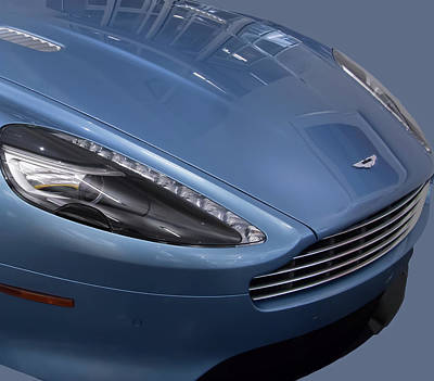 Photograph - Aston Martin by Richard Goldman