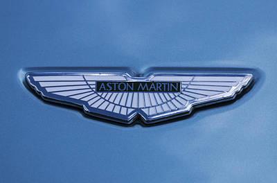 Aston Martin Art Print by Scott Carruthers
