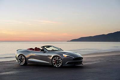 Photograph - Aston Martin V12 Vanquish Volante by Drew Phillips
