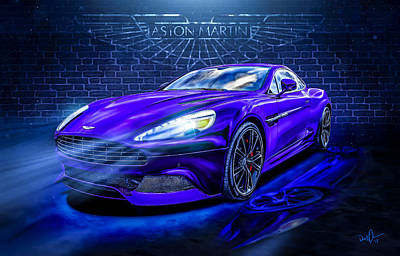 Photograph - Aston Martin Vanquish by Don Olea
