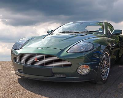 Photograph - Aston Martin Vanquish by Gill Billington