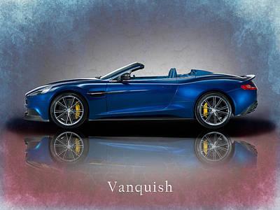 Photograph - Aston Martin Vanquish Volante by Mark Rogan