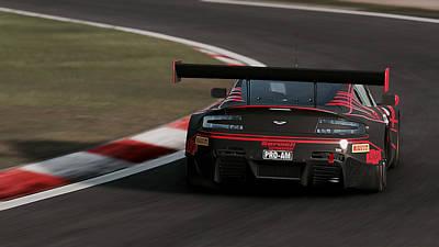 Photograph - Aston Martin Vantage Gt3 - 12 by Andrea Mazzocchetti