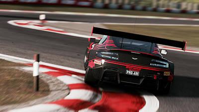 Photograph - Aston Martin Vantage Gt3 - 35 by Andrea Mazzocchetti
