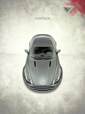 Aston Martin Vantage Art Print by Mark Rogan