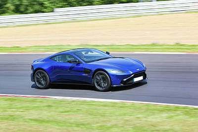 Photograph - Aston Martin Vantage by Roger Lighterness