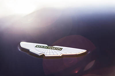 Photograph - Aston Martin Wings by Drew Phillips