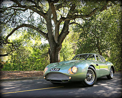 Photograph - Aston Martin Zagato by Steve Natale