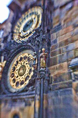 James Bond Photograph - Astonomical Clock - Prague by James Bond