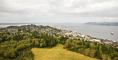Photograph - Astoria Between Rivers by Tom Cochran