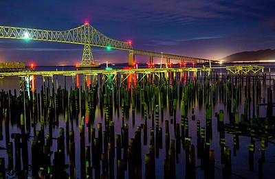 Peter Iredale Photograph - Astoria Bridge 3 by George Herbert