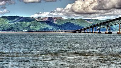 Photograph - Astoria Bridge by Jerry Sodorff