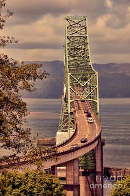 Photograph - Astoria Bridge by Jill Battaglia