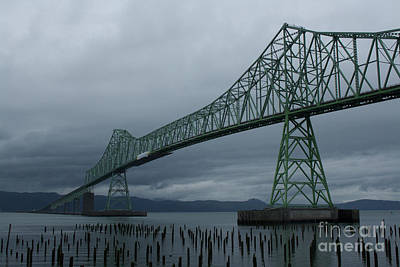 Photograph - Astoria Bridge by Suzanne Lorenz