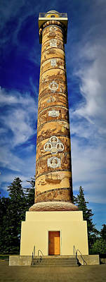 Photograph - Astoria Column by Athena Mckinzie