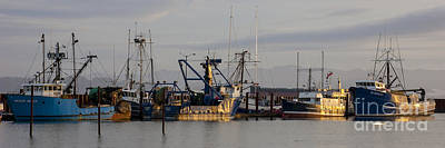 Photograph - Astoria Fishing Fleet At Dawn by Chuck Flewelling