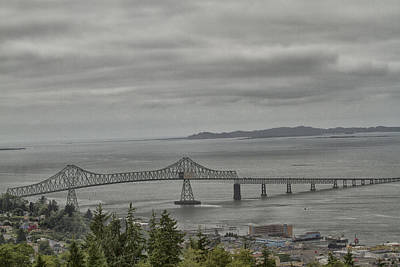 Photograph - Astoria, Gateway To Oregon by Tom Kelly