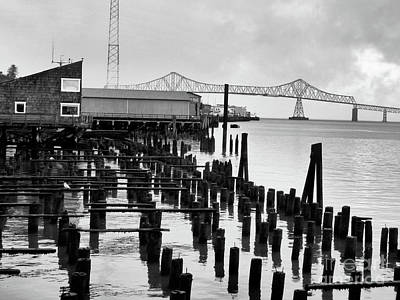 Photograph - Astoria Oregon Waterfront by Scott Cameron