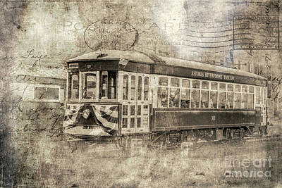 Photograph - Astoria Trolley by Jean OKeeffe Macro Abundance Art