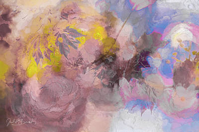 Painting - Astract Sense Of Spring by Judith Barath