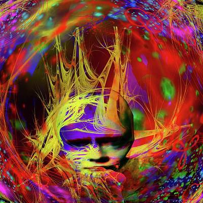 Digital Art - Astral Fantasy by Matthew Lacey
