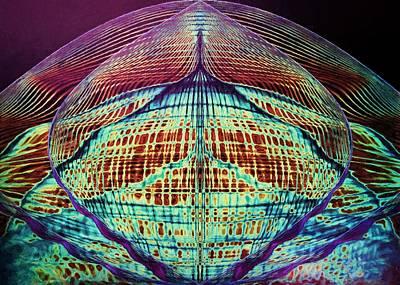 Digital Art - Astral Waves by Charmaine Zoe