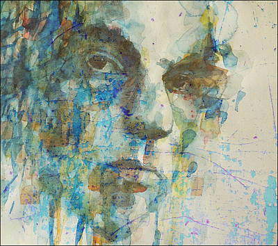 Singer-songwriter Mixed Media - Astral Weeks by Paul Lovering