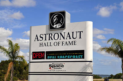 Photograph - Astronaut Hall Of Fame by David Lee Thompson