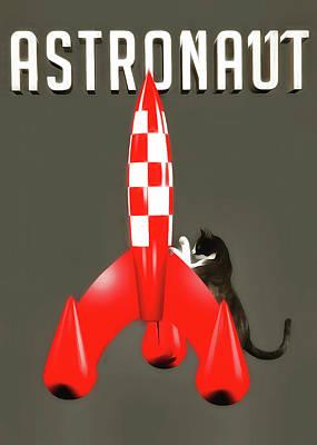 Painting - Astronaut by Jan Keteleer