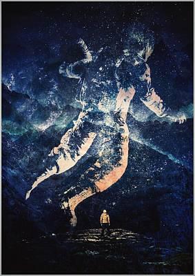 Digital Art - Astronaut Sky by Pedro Venancio
